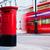 brytyjski · typowy · czerwony · odizolowany · biały - zdjęcia stock © photocreo