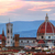 florence italy sunset skyline cathedral of saint mary of the flowers stock photo © photocreo