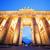 sarı · mıknatıslar · Berlin · Almanya · imzalamak - stok fotoğraf © photocreo