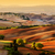 tuscany countryside landscape at sunrise italy stock photo © photocreo