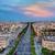 avenue des champs elysees in paris france stock photo © photocreo