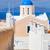 伝統的な · 青 · ドーム · 海 · サントリーニ · 教会 - ストックフォト © photocreo