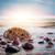 日没 · バルト海 · 海岸 · 夏 · ビーチ · 空 - ストックフォト © photocreo