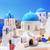 синий · православный · Санторини · Греция · известный - Сток-фото © photocreo