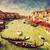 venice italy gondola on grand canal vintage art stock photo © photocreo