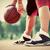 jonge · speler · stedelijke · stad · basketbalveld · Maakt · een · reservekopie - stockfoto © photocreo