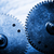 grunge gear cog wheels concept of industrial science stock photo © photocreo
