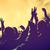 personas · música · concierto · disco · fiesta · vintage - foto stock © photocreo
