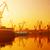 csónak · tenger · naplemente · Balti-tenger · Lengyelország · égbolt - stock fotó © photocreo