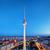 ベルリン · ドイツ · 表示 · 屋上 · テレビ · 塔 - ストックフォト © photocreo