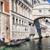 橋 · ヴェネツィア · 日の出 · イタリア · 建物 · 自然 - ストックフォト © photocreo