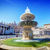 fountain on st peters square in vatican city stock photo © photocreo