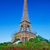eiffel tower red roses in paris france stock photo © photocreo