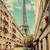 通り · 光 · パリ · フランス · パリジャン - ストックフォト © photocreo