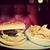 smaczny · hamburger · frytki · biały · żywności · bar - zdjęcia stock © photocreo