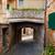romantic narrow street and balcony in montepulciano tuscany italy stock photo © photocreo