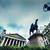 bank of england the royal exchange and the wellington statue london the uk stock photo © photocreo