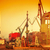 cranes in historical shipyard in gdansk poland stock photo © photocreo