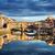 eski · köprü · Floransa · Toskana · İtalya · su - stok fotoğraf © photocreo