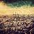 view · noto · Arc · de · Triomphe · tramonto · Parigi · sole - foto d'archivio © photocreo