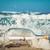 un · message · bouteille · océan · concepts · plage · verre - photo stock © photocreo