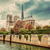 notre dame cathedral in paris france and the seine river stock photo © photocreo