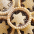 background texture of christmas mince pies stock photo © photohome