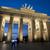 brandenburg gate illuminated at night stock photo © photohome