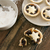eating delicious fresh baked christmas mince pies stock photo © photohome