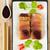 rosso · tonno · sashimi · alimentare · cena · nero - foto d'archivio © photooiasson