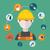 engineer construction manufacturing worker illustration stock photo © photoroyalty