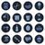 bathroom icons set flat vector design stock photo © photoroyalty