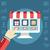 online · alışveriş · süreç · web · sitesi · madde · satın · almak · tıklayın - stok fotoğraf © Photoroyalty