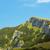 Blauw · bergen · Geel · heuvels · hemel · voorjaar - stockfoto © photosebia