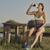 Woman hydrating after run stock photo © photosebia