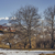 winter · ochtend · berg · dorp · oude · houten - stockfoto © photosebia