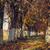безмятежный · осень · пейзаж · аллеи · покрытый · высушите - Сток-фото © photosebia