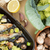 cozinhado · brócolis · alho-porro · peixe · limão · dieta - foto stock © photosil