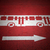 bus · verkeer · richting · teken · geschilderd · Rood - stockfoto © photosil