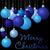 hellen · blau · heiter · Weihnachten · Spielerei · Karte - stock foto © piccola