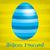 kellemes · húsvétot · tojás · kártya · vektor · formátum · absztrakt - stock fotó © piccola
