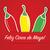 majonéz · boldog · papír · kivágás · kártya · zöld · piros - stock fotó © piccola