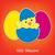 baba · csirke · tojások · húsvét · kártya · vektor - stock fotó © piccola