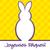 francese · buona · pasqua · luminoso · coniglio · carta - foto d'archivio © piccola