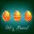 Христос · воскрес · ярко · яйцо · карт · вектора · формат - Сток-фото © piccola