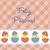 bebek · civciv · Paskalya · kart · vektör · format - stok fotoğraf © piccola