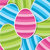bright easter egg sticker background in vector format stock photo © piccola