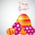kellemes · húsvétot · tojás · kártya · vektor · formátum · textúra - stock fotó © piccola
