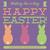 Paskalya · tebrik · kartı · şablon · stil · pastel - stok fotoğraf © piccola