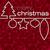 piros · mozaik · vonal · karácsonyi · üdvözlet · vektor · formátum - stock fotó © piccola